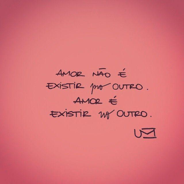 Você existe em mim !