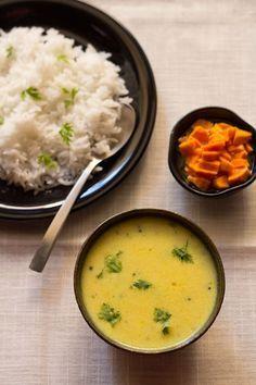 maharashtrian kadhi recipe - kadhi with or without pakoras is always a regular at home. already posted recipes of punjabi kadhi, rajasthani kadhi and gujarati kadhi.