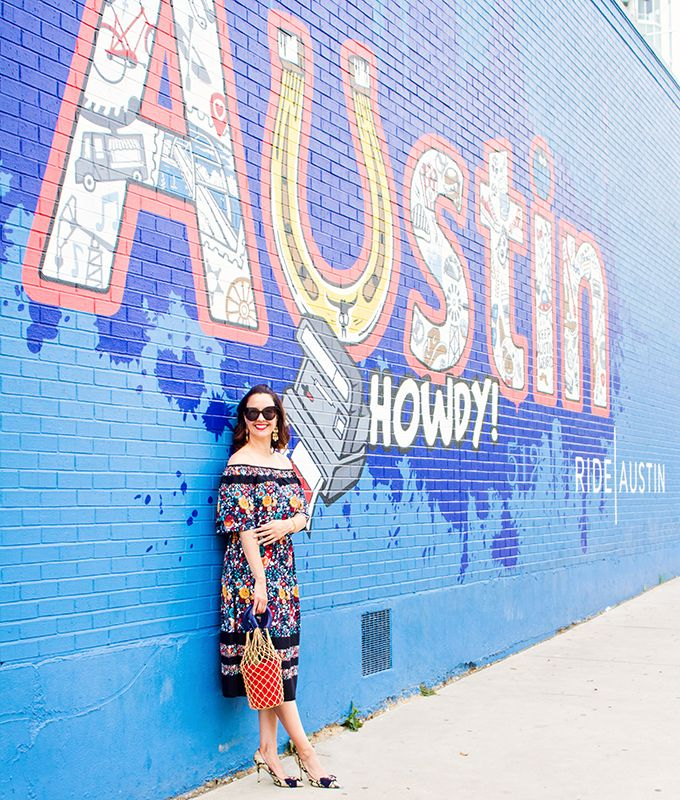 Austin Mural Guide Your Guide To Austin S Most Colorful Walls Carrie Colbert Mural Guide Austin Murals Austin Travel Guide