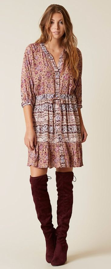 Boho Dresses for Fall : Billabong Marry Mine Dress   Buckle