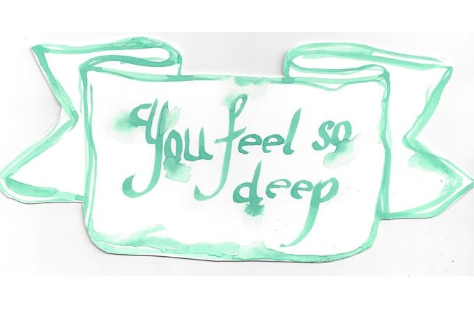 You feel so Deep by Lady Skollie