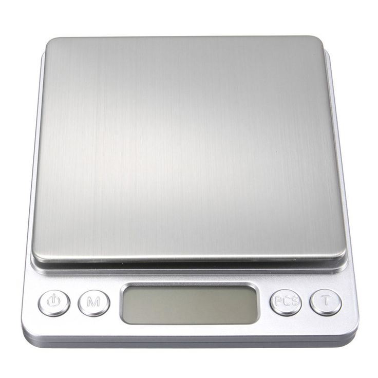 500g x 0.01g Mini Digital Scale Jewelry Weighting Kitchen Scale Electronic and LCD Display g/ oz/ ct/ gn Precision with 2 trays