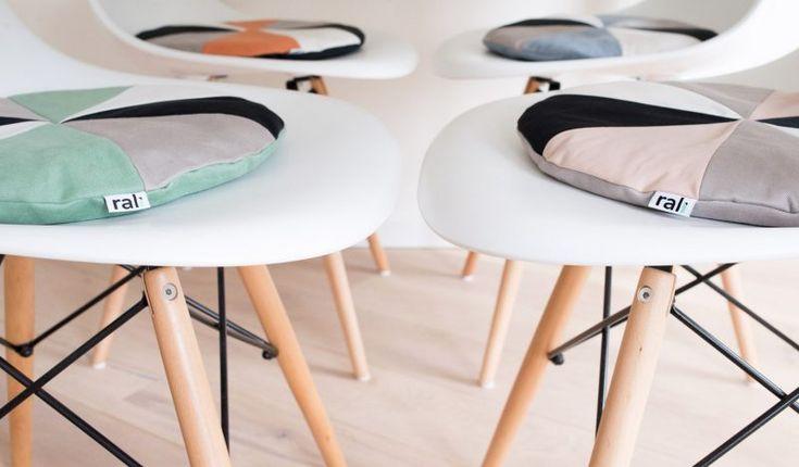 Galette de chaise Le Pad par Rali Living - Blog Déco Design