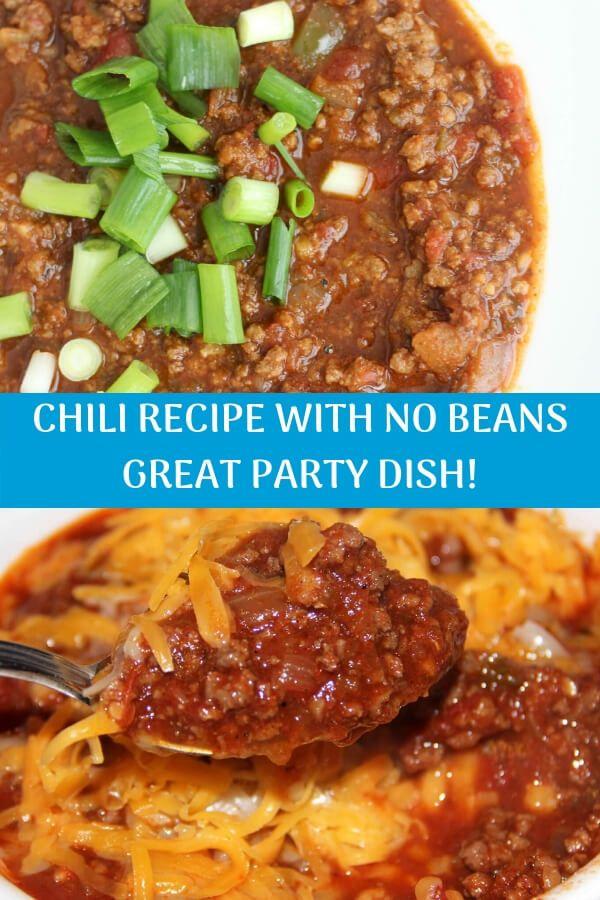 Chili Recipe No Beans Spicy