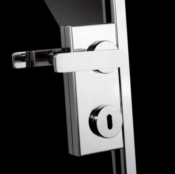 Passage Handle With Key Or Privacy Lock Stainless Steel Door Handles Door Handles Glass Doors Interior