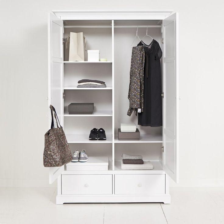 Ikea Hemnes Kleiderschrank Weiß Maße : 1000+ ideas about Kleiderschrank Weiss on Pinterest