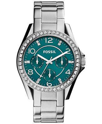Fossil Women's Riley Stainless Steel Bracelet Watch 38mm ES3647
