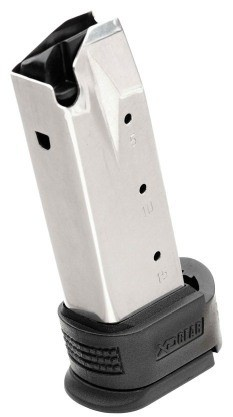 Springfield XD 9mm 16rd Sub Compact Magazine w/ Black X-Tension XD0931