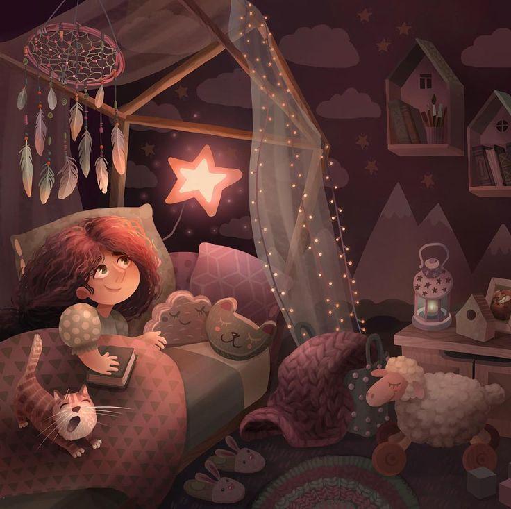 Спокойной ночи уютной картинки