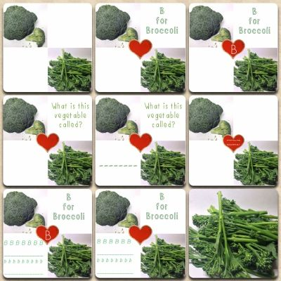 We've added a collection of broccoli printables that includes handwriting and spelling practice along with letter and vegetable recognition printables. Help your paleo kids learn their vegetables and their ABC with creativelypaleo.com