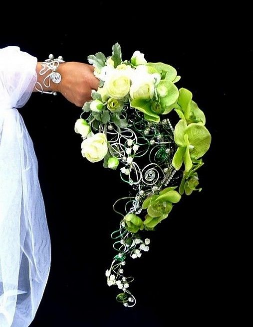 Svatební kytice Okouzlená + korsáž by wandadesign - SAShE.sk - Handmade Svadba