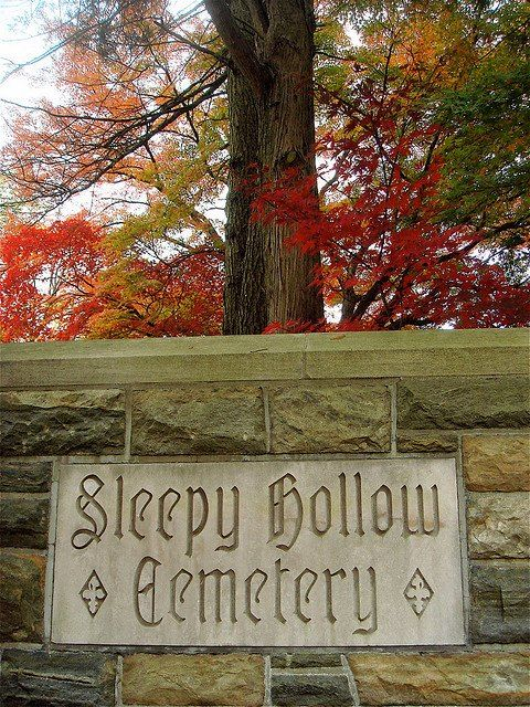 Photo: Let's visit... Located in Sleepy Hollow, New York.  Horrific Finds