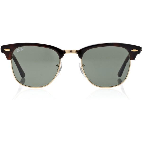 Ray Ban Half Frame Sunglasses