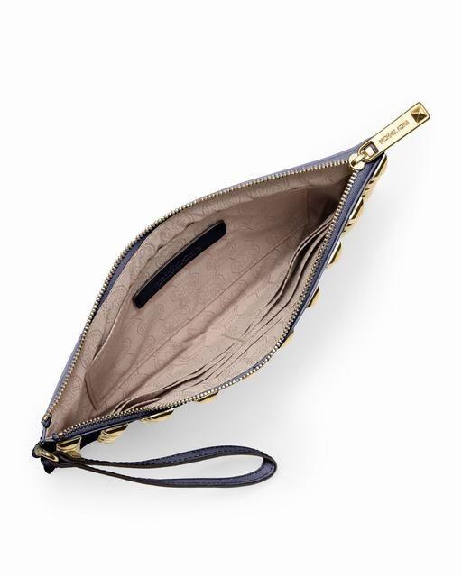 Michael Kors Große Pyramide-Stud Zip Kupplung Navy online kaufen 0 #fashionhandbags#jewellery|#jewellerydesign}