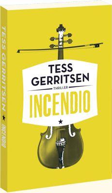 De Amerikaanse bestsellerauteur Tess Gerritsen schrijft het geschenkboek Incendio voor Juni - Maand van het Spannende Boek 2014. In deze maand krijgen klanten het boek cadeau van de boekhandelaar bij besteding van ten minste € 12,50 aan Nederlandstalige boeken.