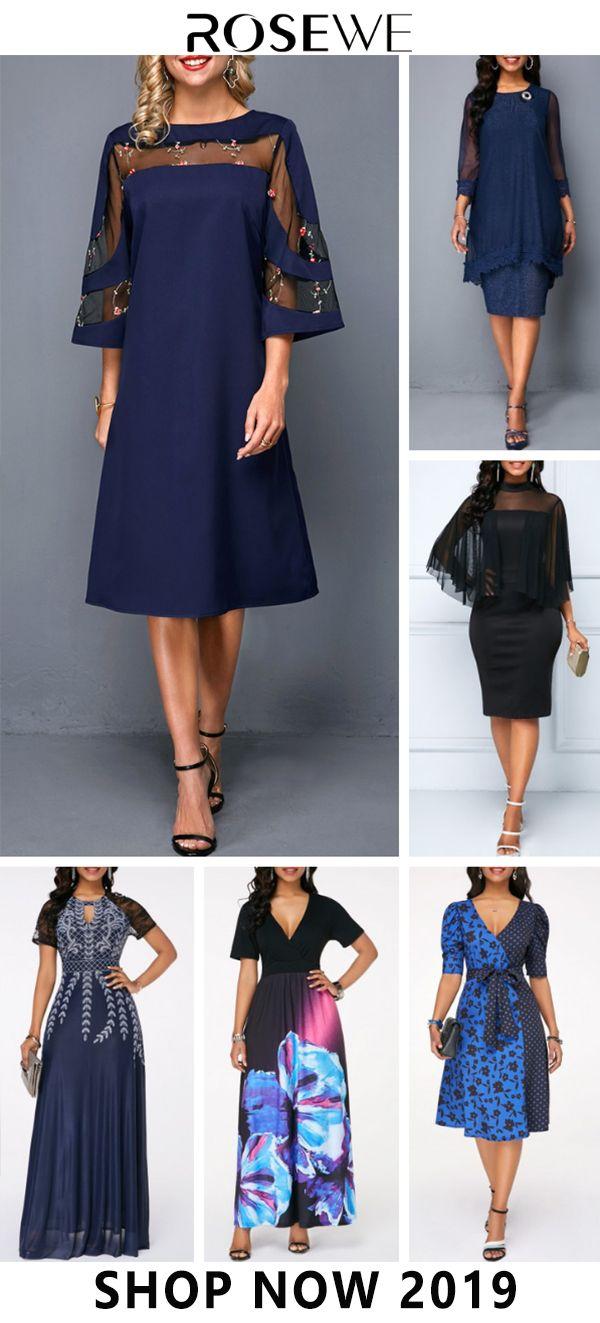 Neue Ankunft u. Freies Verschiffen! Wählen Sie Ihre Lieblingskleider und kaufen Sie online bei Ros …   – Fashion Dress