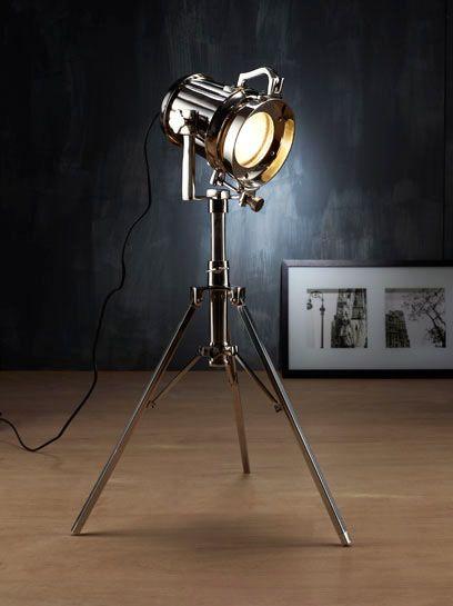 Steel Spot Light