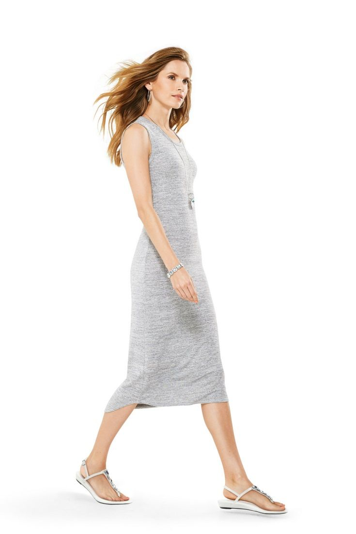 We love spring for one reason: the return of the maxi dress! #looksforless #springfashion #spring2016 #dresses #maxidress