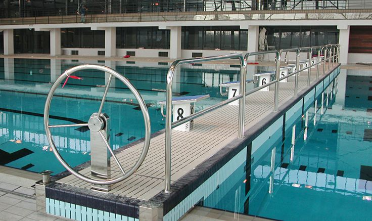 "Sports Center ""Pierre De Coubertin"" - Myrtha Pools"