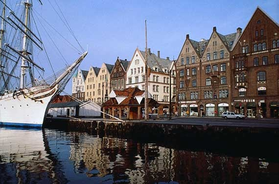 Bergen, Norway. Beautiful city in a beautiful country!