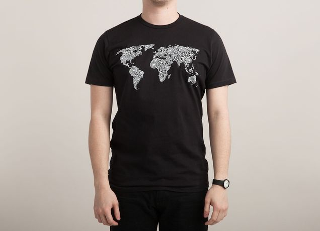 """""""World of Bike"""" by conceptart12 on men's t-shirts 