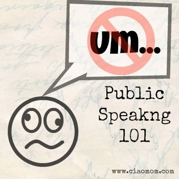 teaching kids to be public speakers | Ciao Mom