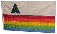 Photo of the Santa Cruz County Flag