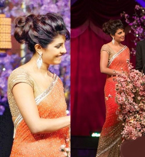 Fashion: Bollywood Celebrities in Beautiful Designers Saree 2013 pics