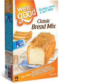 Well and Good Gluten Free Classic Bread Mix. #wellandgood