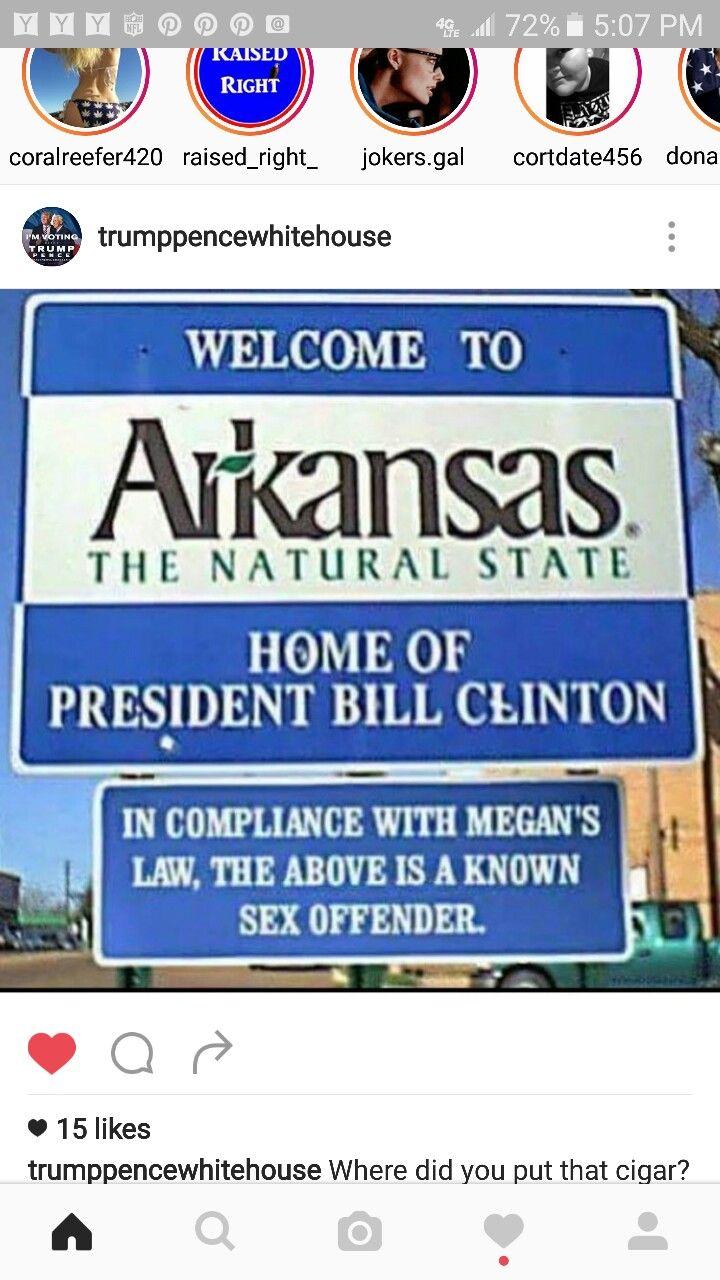 Arkansas, where Hope is.