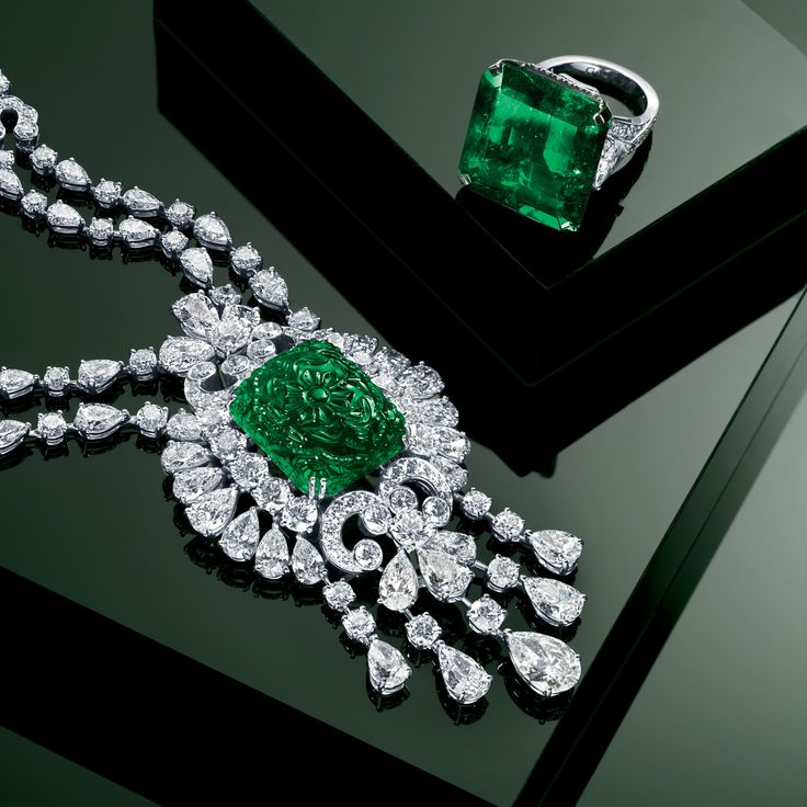 Graff diamonds | Graff Diamonds/ I've always wanted an Emerald ring. Maybe one day...