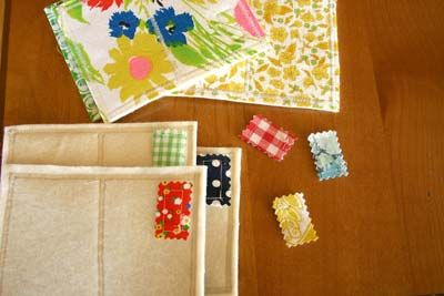 carte voeu tissu Inspiration : carte postales en tissu