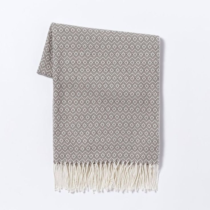 Warmest Throw - Diamond Jacquard West elm