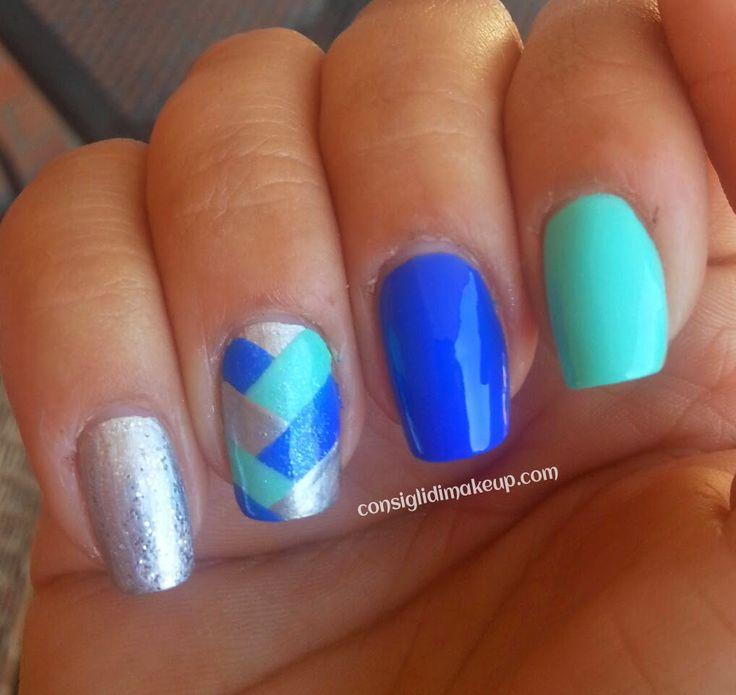 Consigli di Makeup: Tutorial Nail art treccia : Braid Manicure
