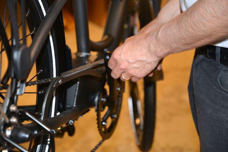En vanlig sykkel kan utstyres med el-motor. Det er mange mulige løsninger (Foto: BRYNJULF BLIX)