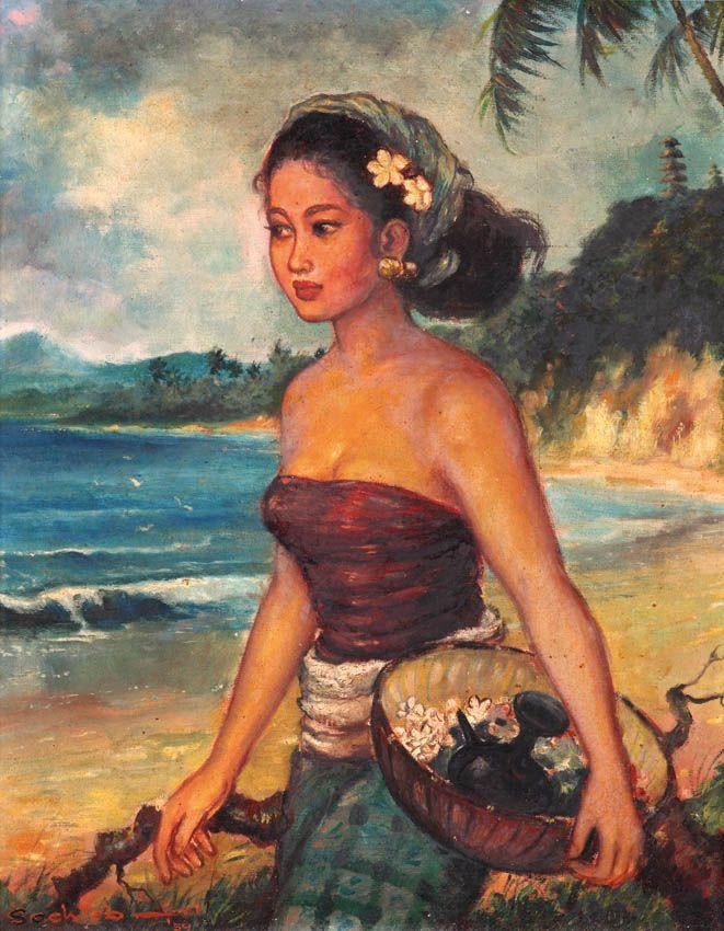 Sochieb - (Surabaya, 1931) - Gadis Bali, 1959.