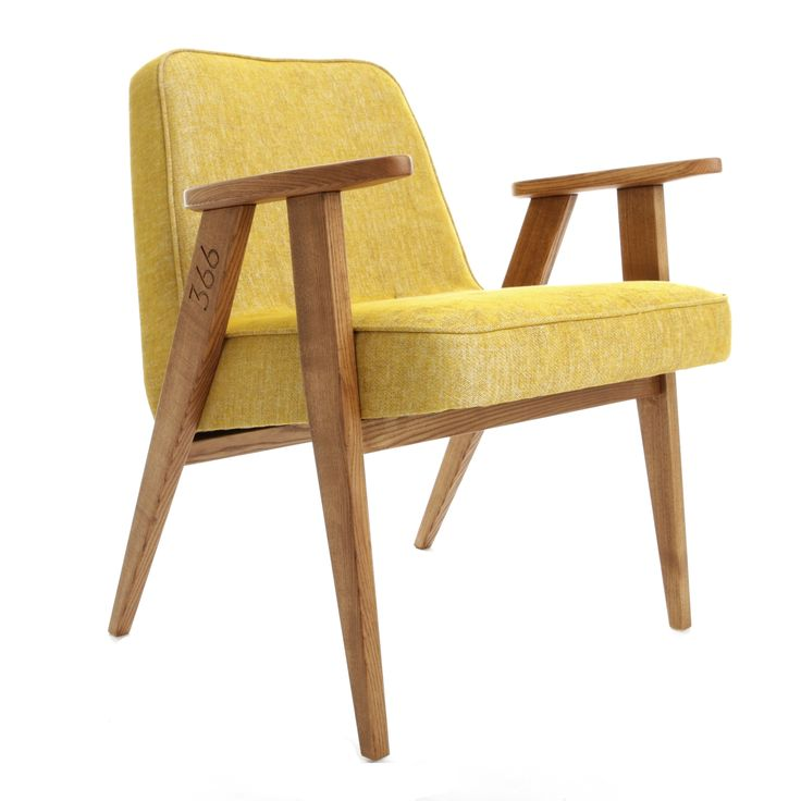 366 easychair in Mustard - LOFT collection.