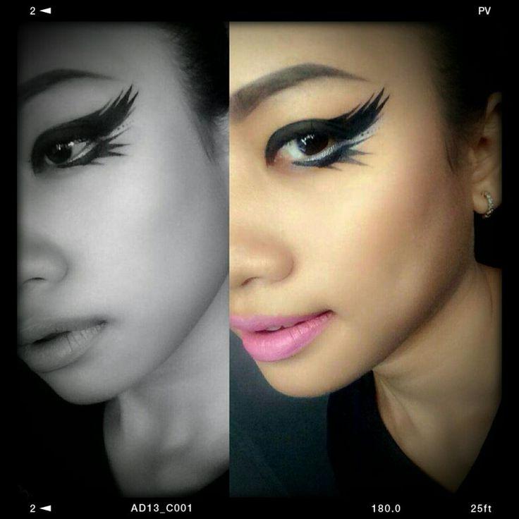 All eyes on you by Flormar Dipliner #flormarcambodia #flormarprofessionalmakeup #makeupaddict #eyeliners #creative #phnompenh