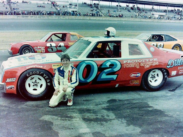 Mark Martin drove Bud Reeder's Pontiac to a 14th place finish in the '81 Daytona LMS race