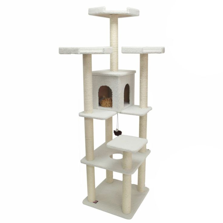 80-inch Bungalow Tree Condo for Cats - Overstock™ Shopping - The Best Prices on Majestic Pet Products Cat Furniture
