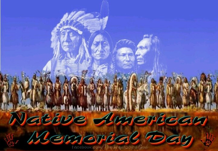 native american memorial day pics