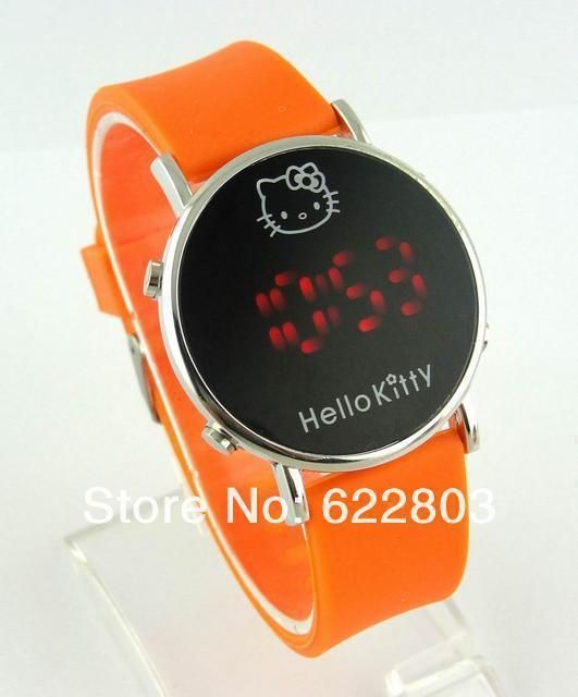 Kids Girl Hello Kitty Watch Casual Silicone Digital LED Quartz Wristwatches New #Unbranded #FashionCasual