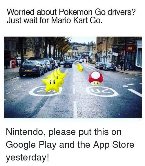 When Nintendo Releases Mario Kart Go