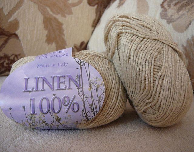 Linen 100 Seam пряжа лен