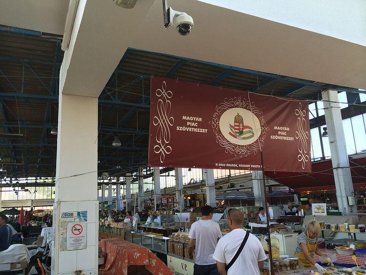 Market in Újpest.