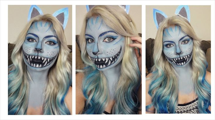 Cheshire Cat Halloween Makeup Tutorial | 2014 Series