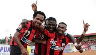 ballindo: Persipura Wajib Menang Lawan Madura United