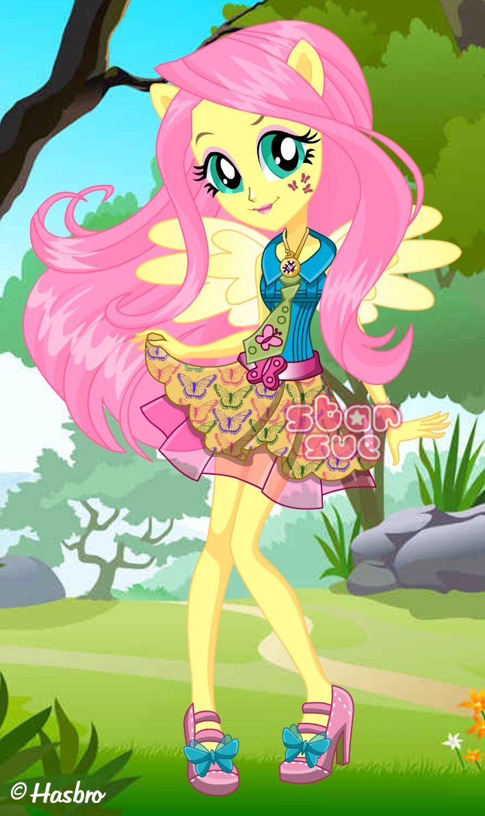 MLPEG Friendship Games Fluttershy School Spirit Style ...