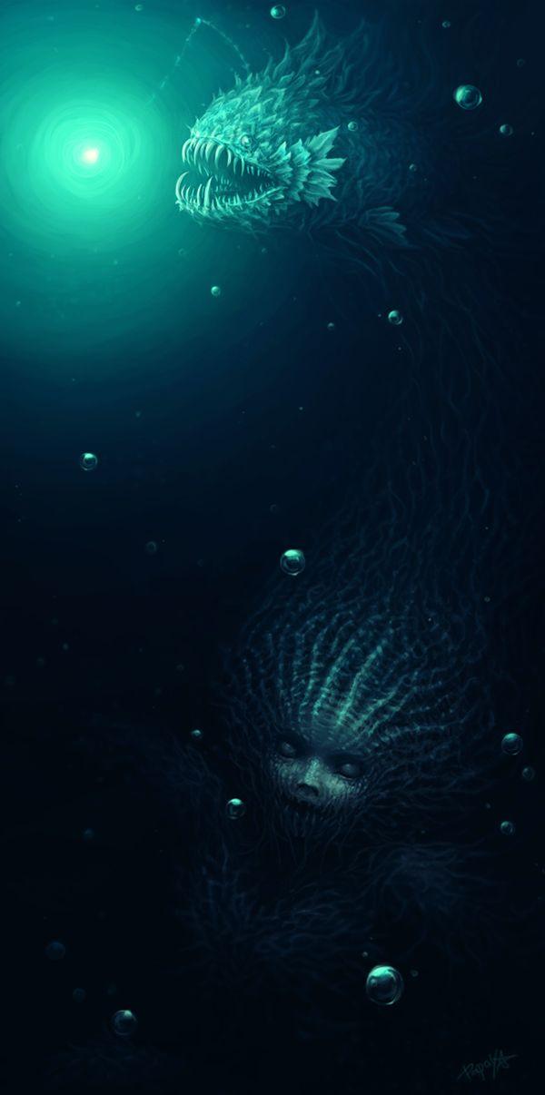 Dark Mermaid Art Best 25+ Dark mermaid ...
