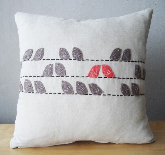 Cute pillow on etsy